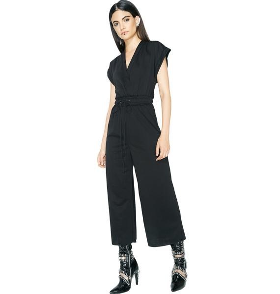 All Me Tie Waist Jumpsuit