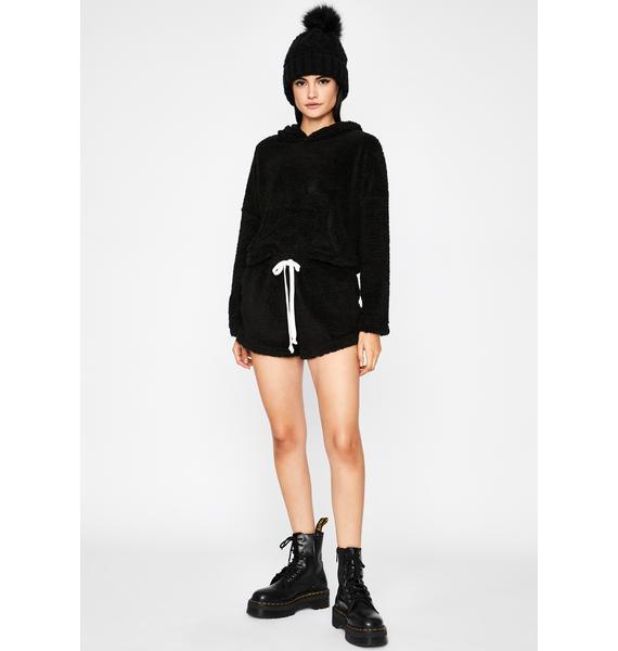 Cuddle Mode Shorts Set