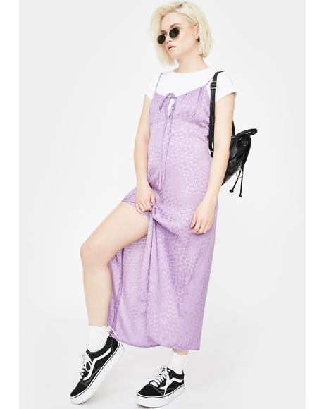 Lavender Cypress Midi Dress