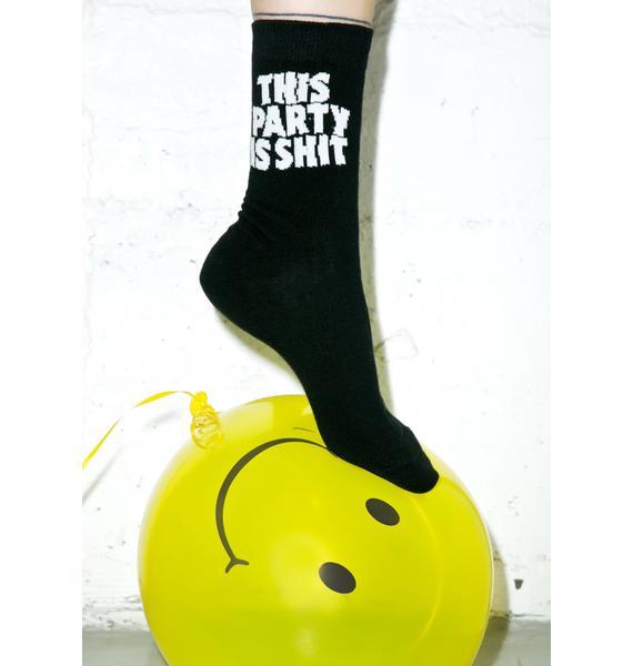 Killstar Party Socks