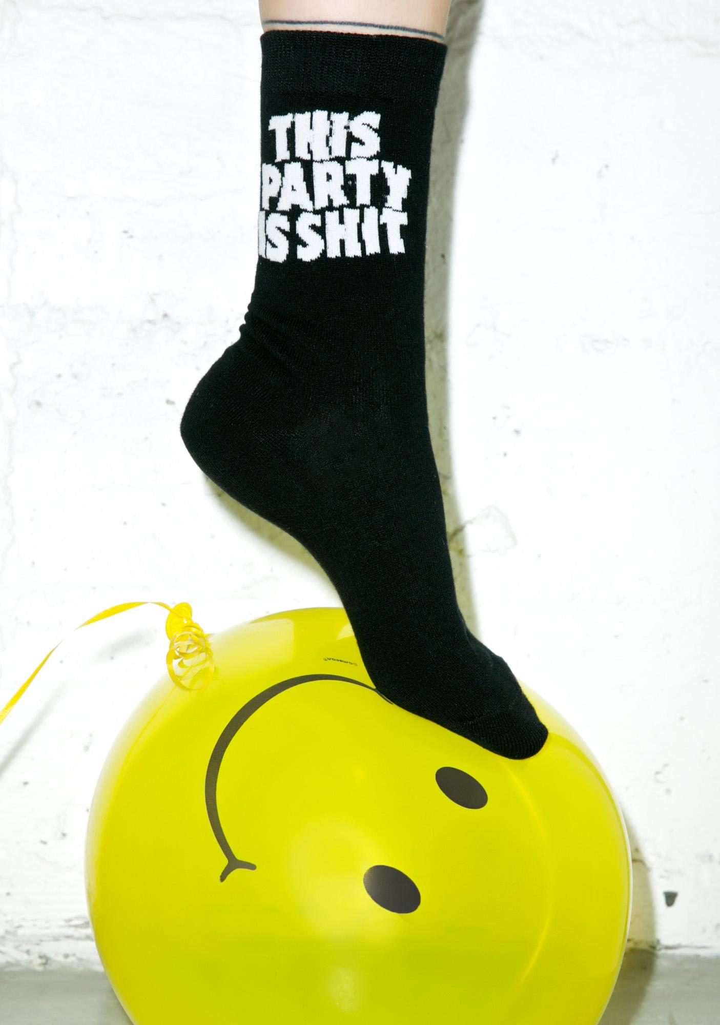 Killstar Party Socks