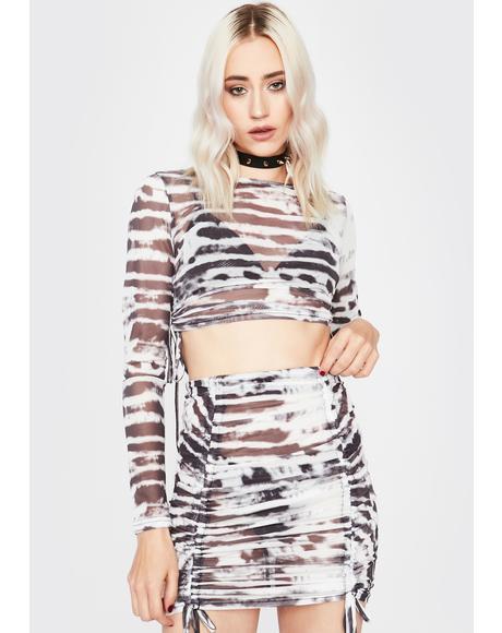 Mystic Tough Competition Mini Skirt