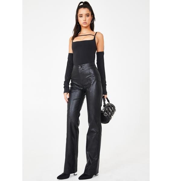 I AM GIA York Faux Leather Pants
