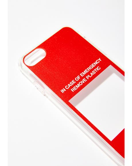 In Case Of Emergency iPhone Case