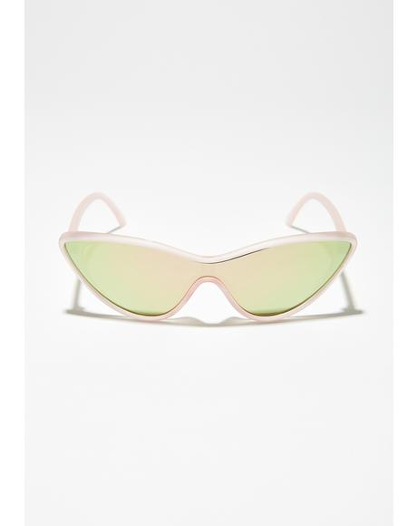 International Sensation Cat-Eye Sunglasses