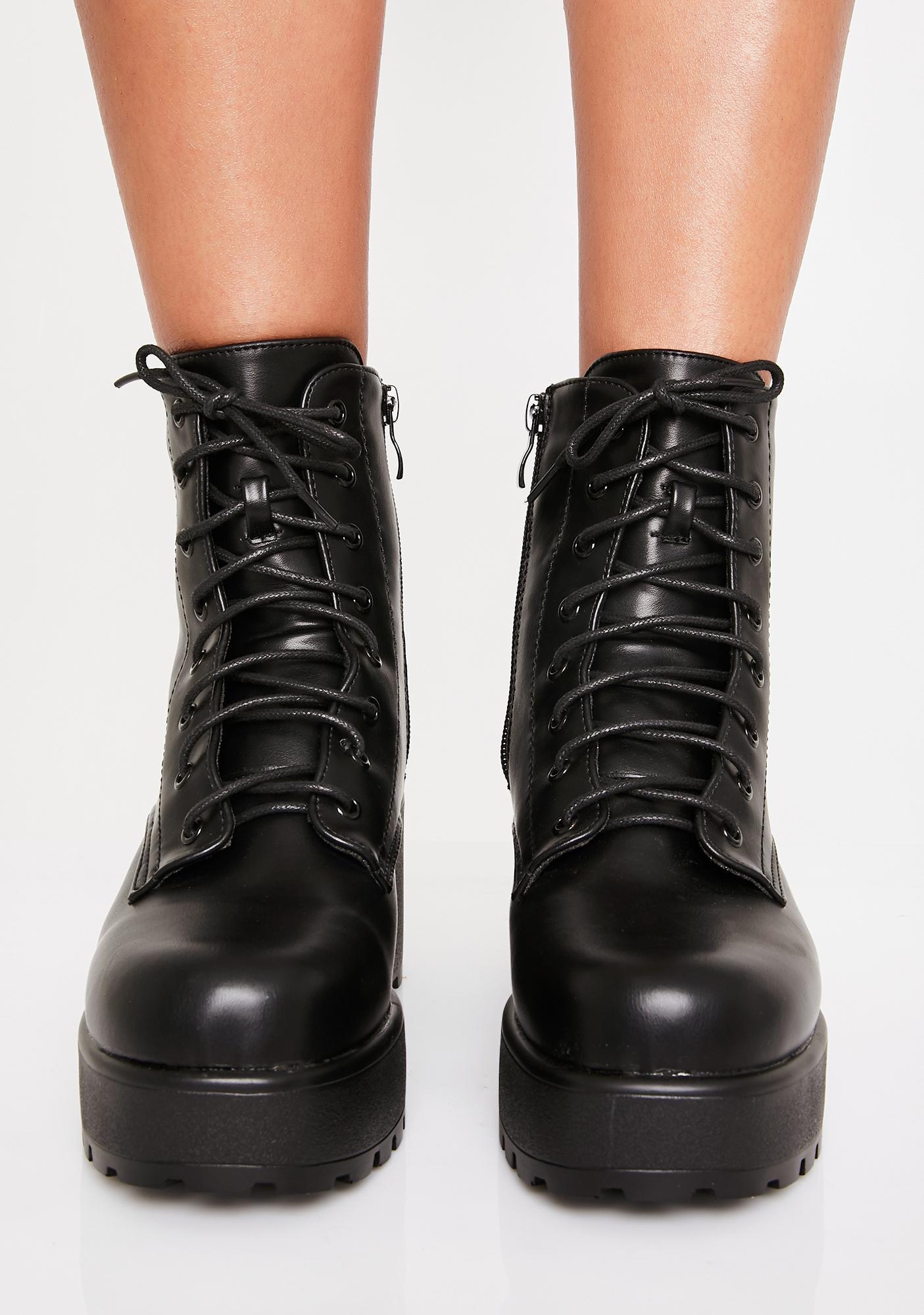 Koi Footwear Gin Platform Boots