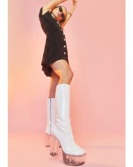 Find Your Groove Patent Boot