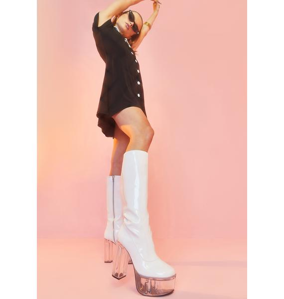 Sugar Thrillz Find Your Groove Patent Boot