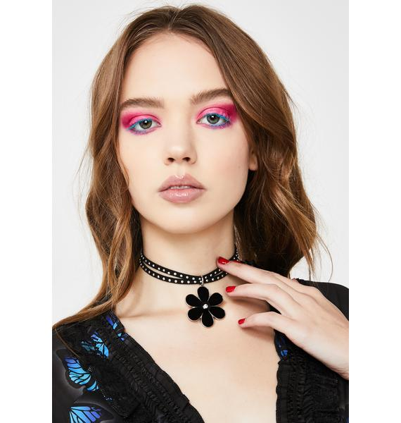 Delinquent Daisies Skinny Choker