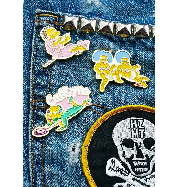 Skinnydip Mr. Burns Enamel Pin