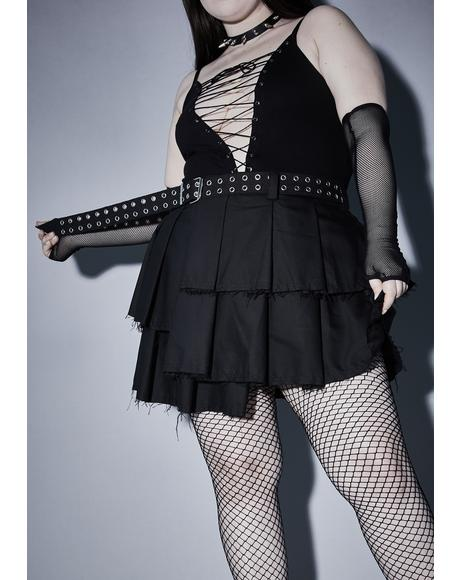 Wicked Killer Fright Night Mini Skirt