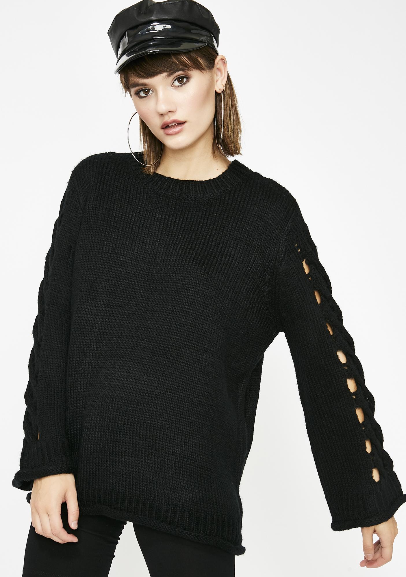 6716751da21 Midnight Twisted Dreams Oversize Sweater