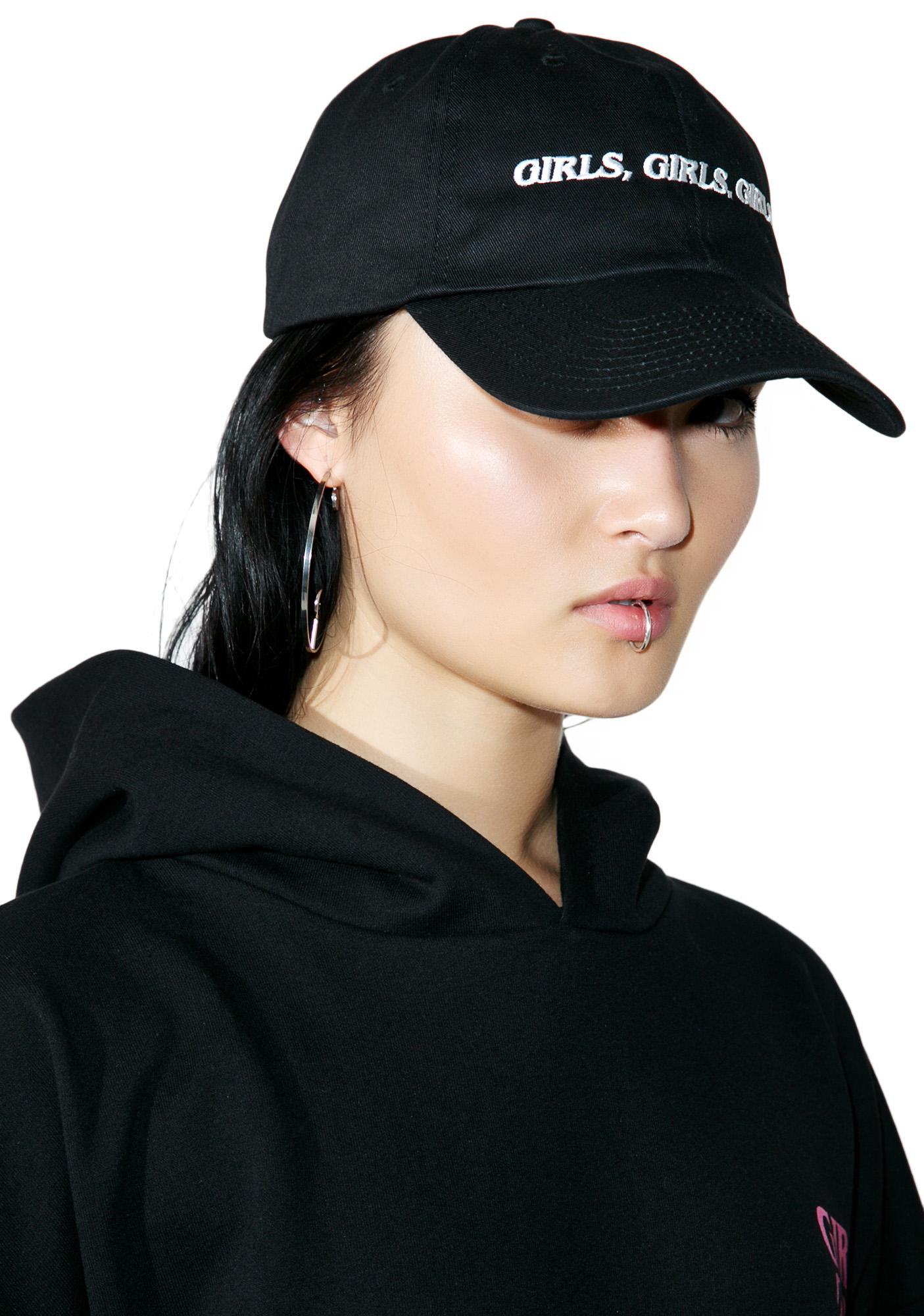 Brashy Girls Girls Girls Dad Hat