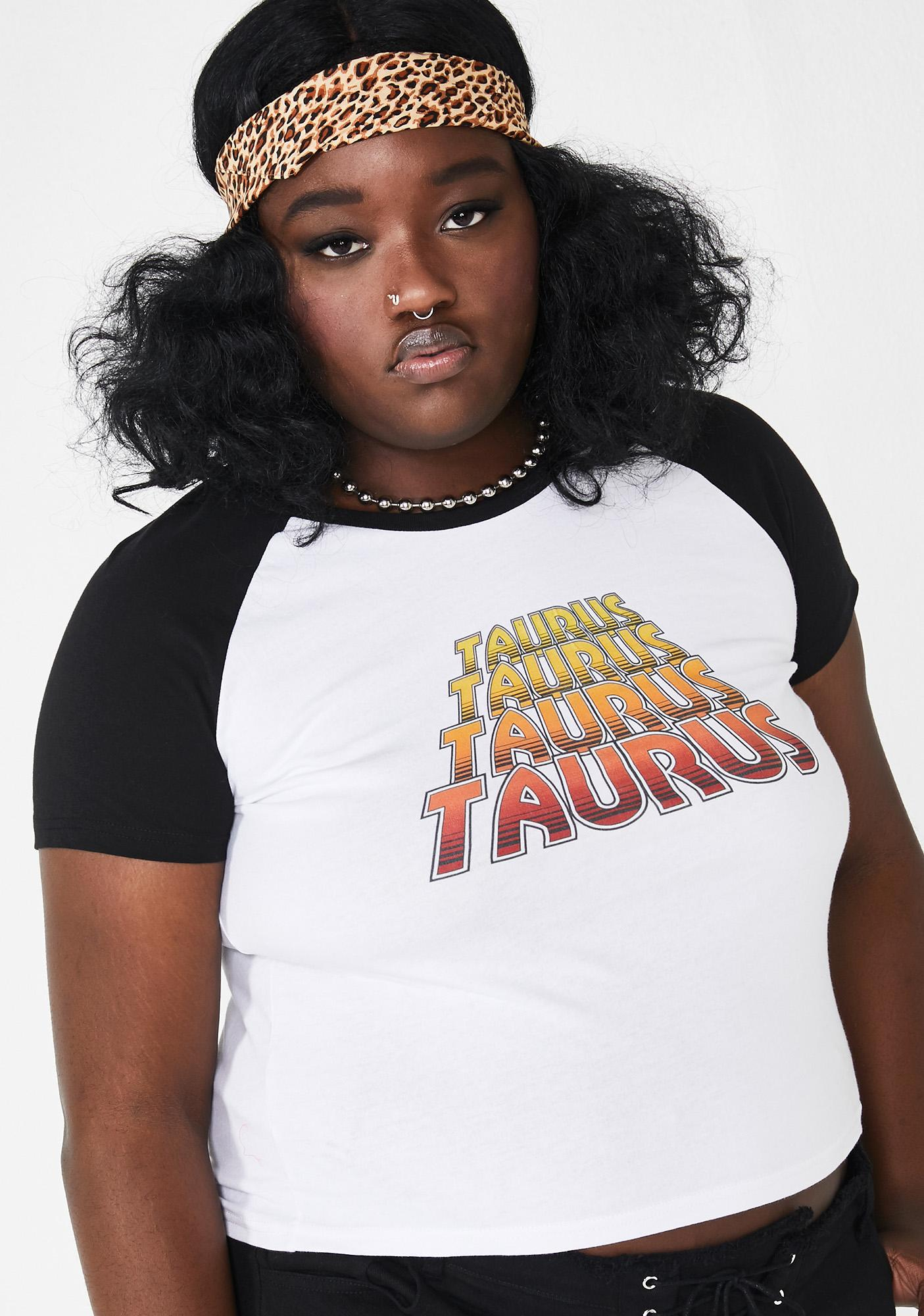 cc4a2653925 Plus Size Horoscopez Taurus Graphic Tee | Dolls Kill