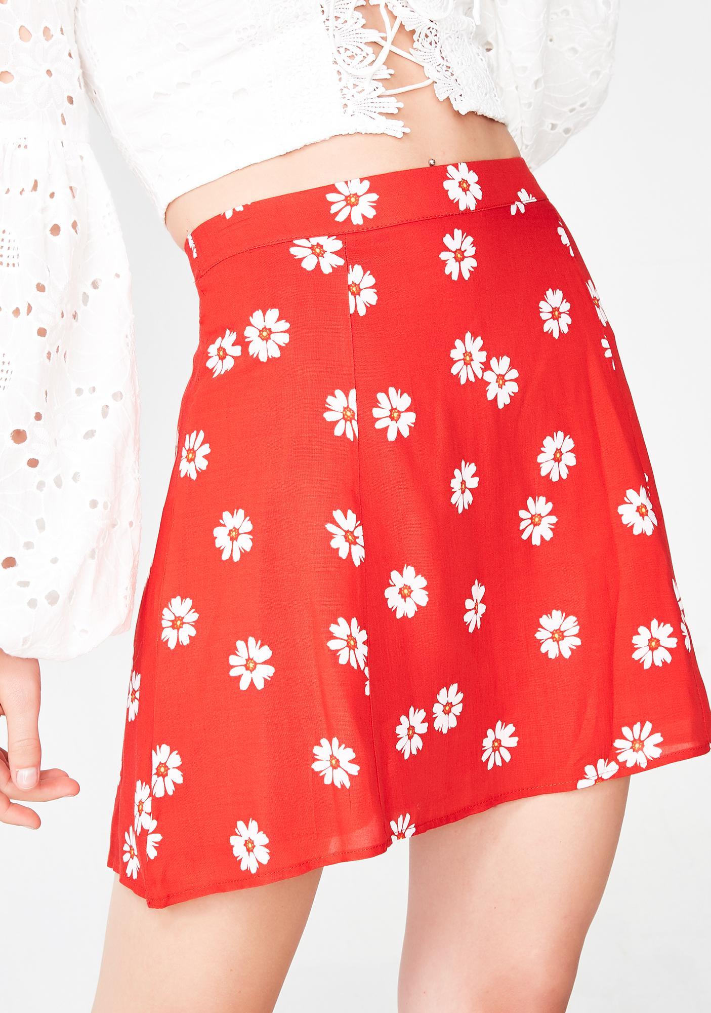 Flora Aura Mini Skirt