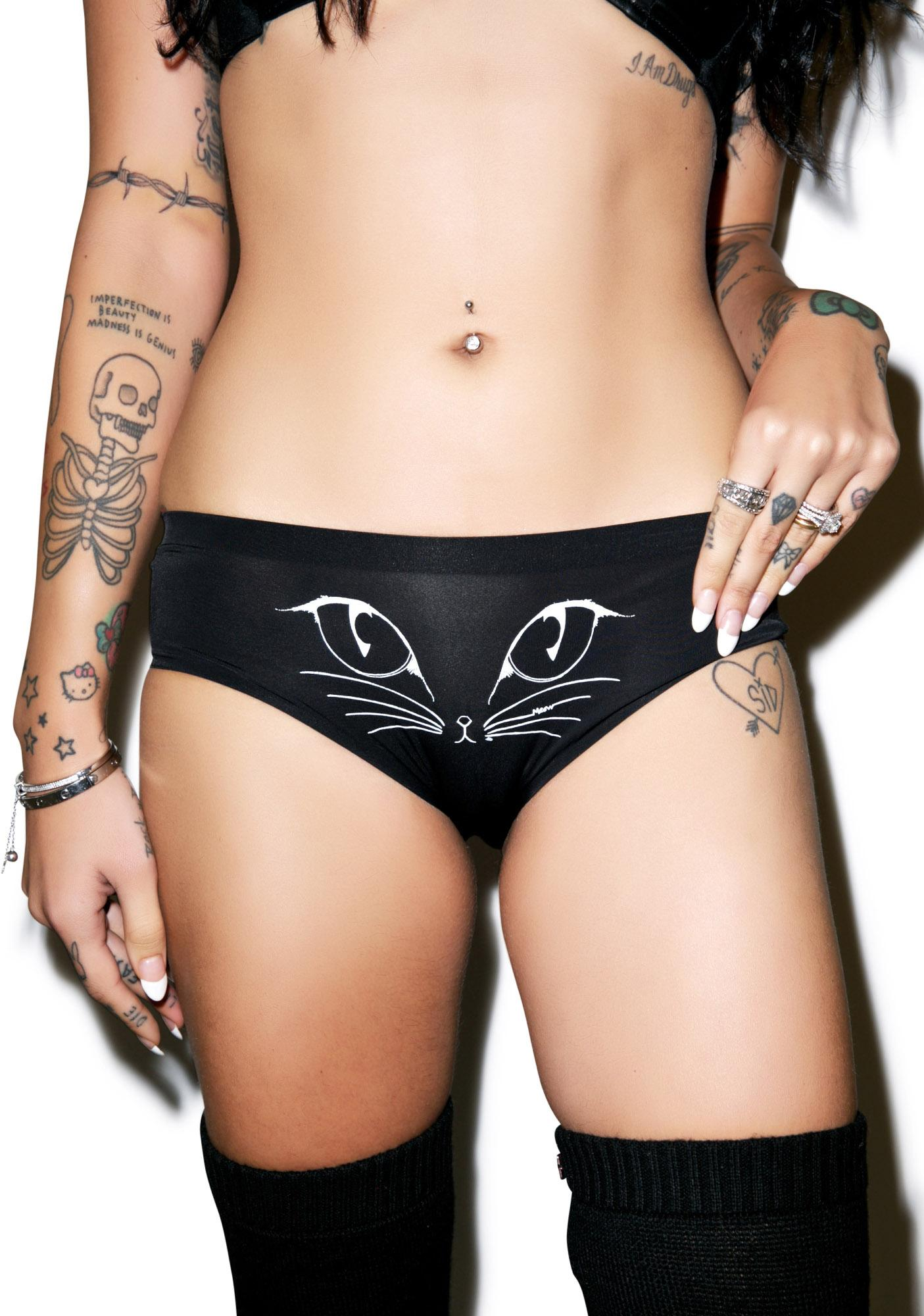 Private Arts Nine Lives High Cut Undies