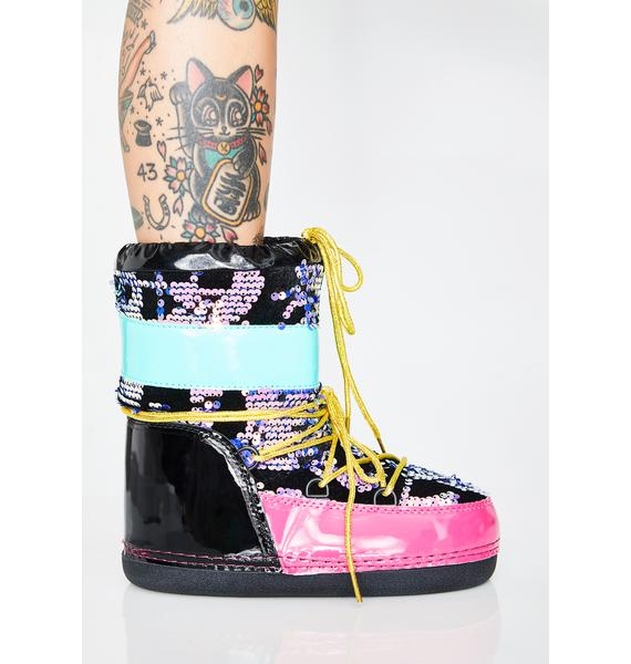 Freaky Journey To Mars Boots