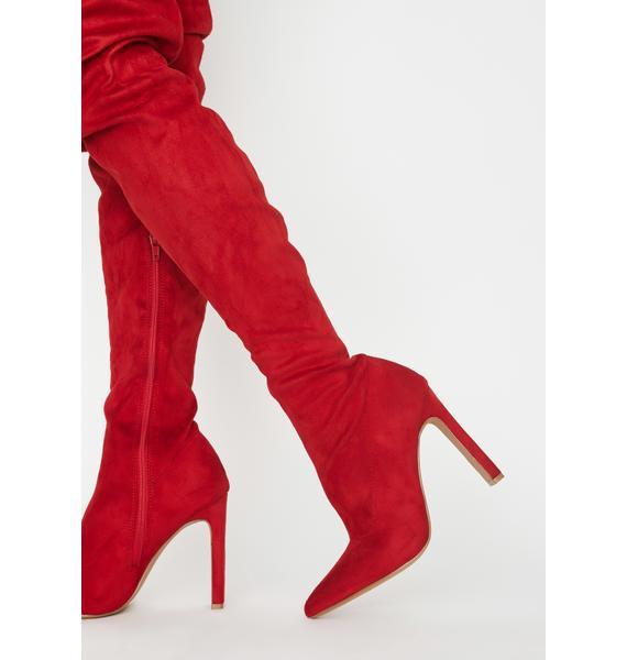 Hot Miss Temptress Thigh High Boots