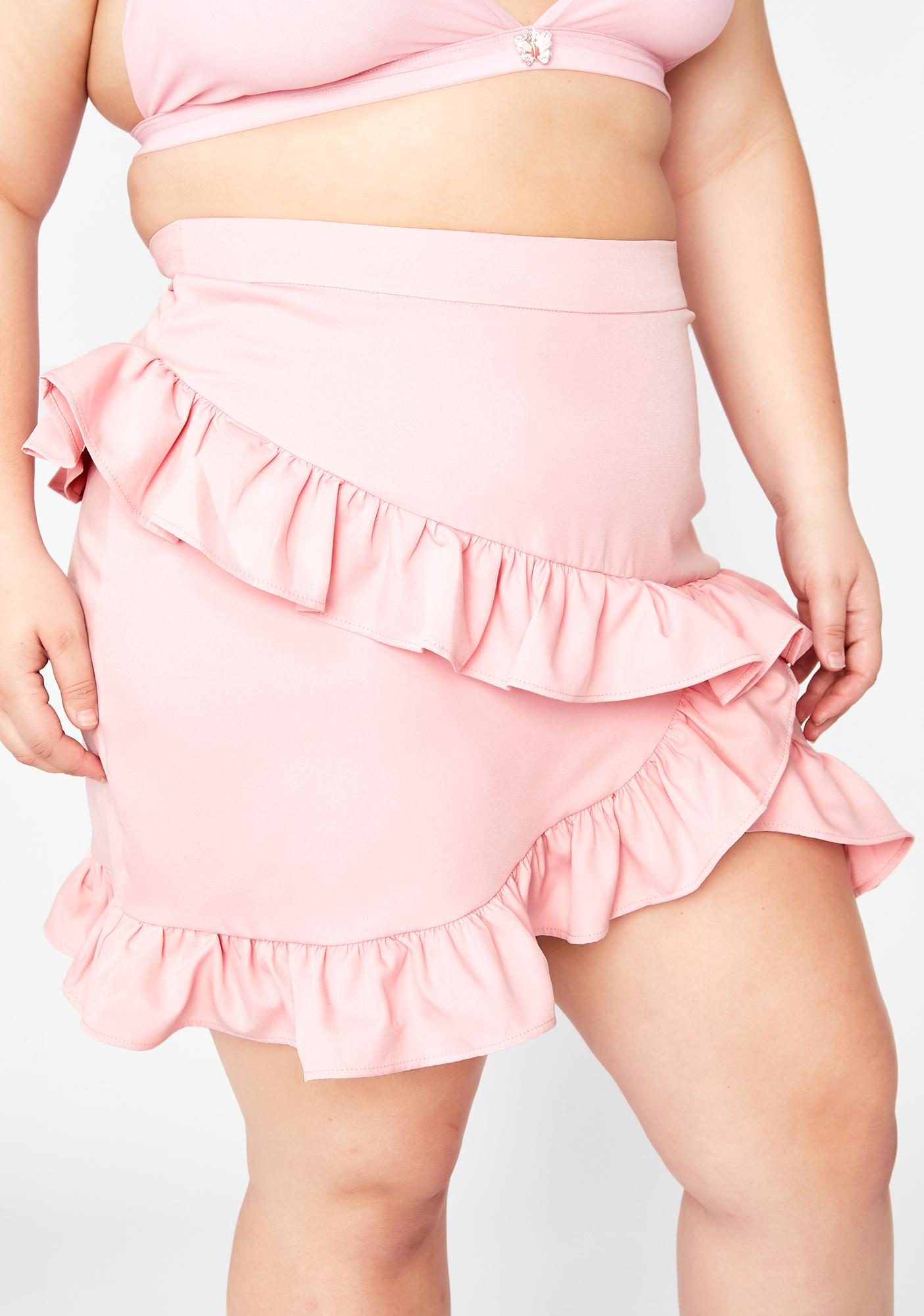 Honey Can U Handle Ruffle Skirt