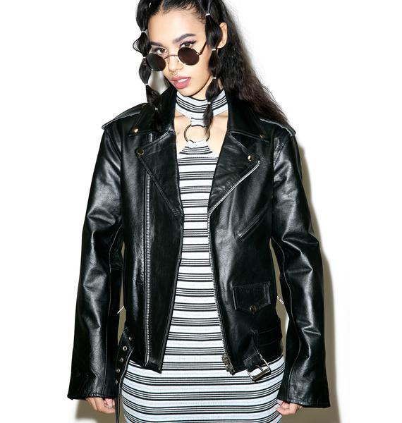 The Ragged Priest Shredder Biker Jacket