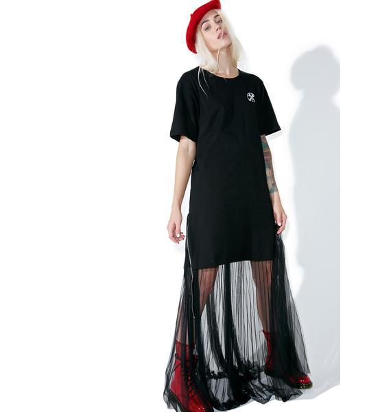 Civil Clothing Extended Zip Long Tee