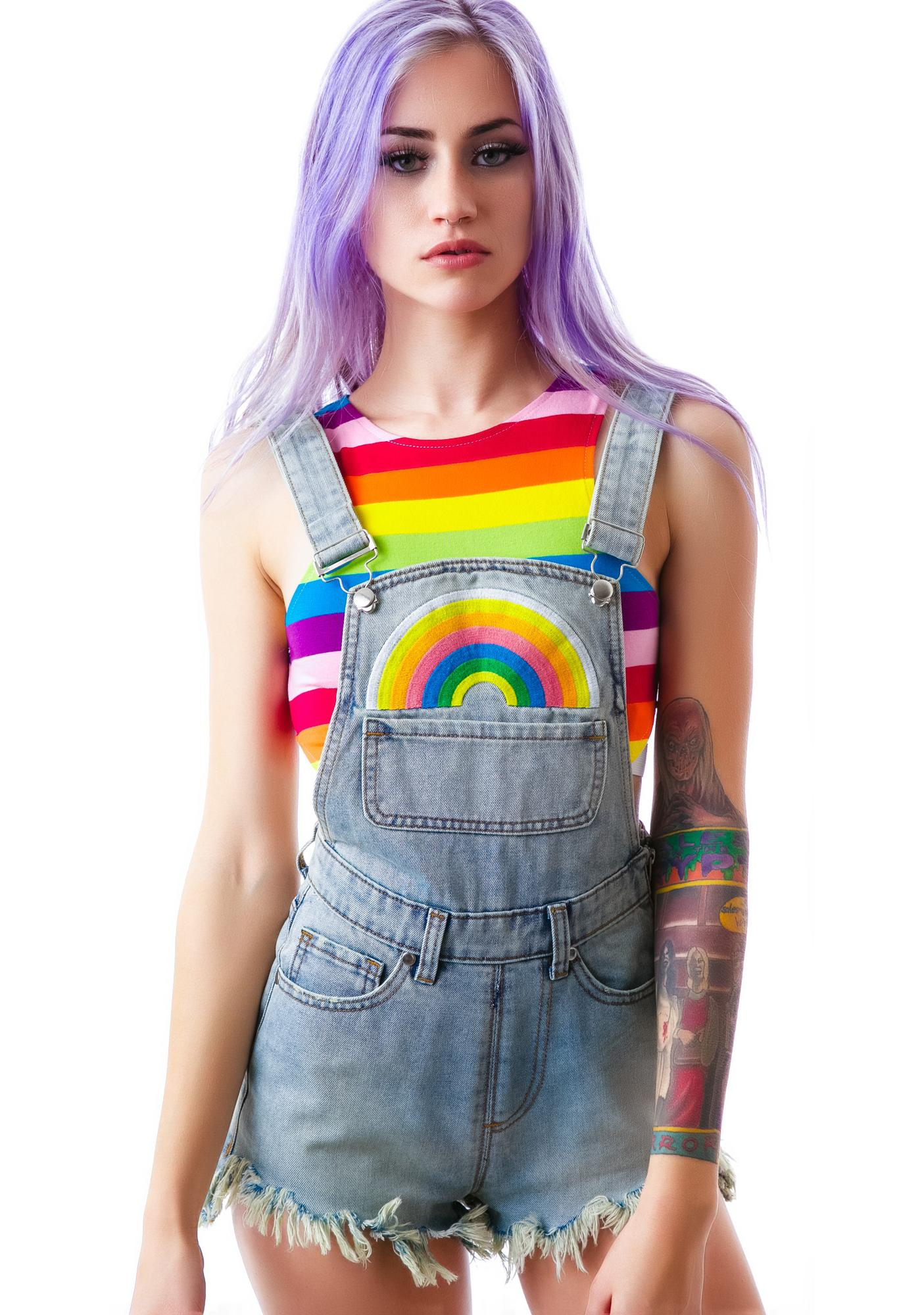 UNIF Rainbow Jumper