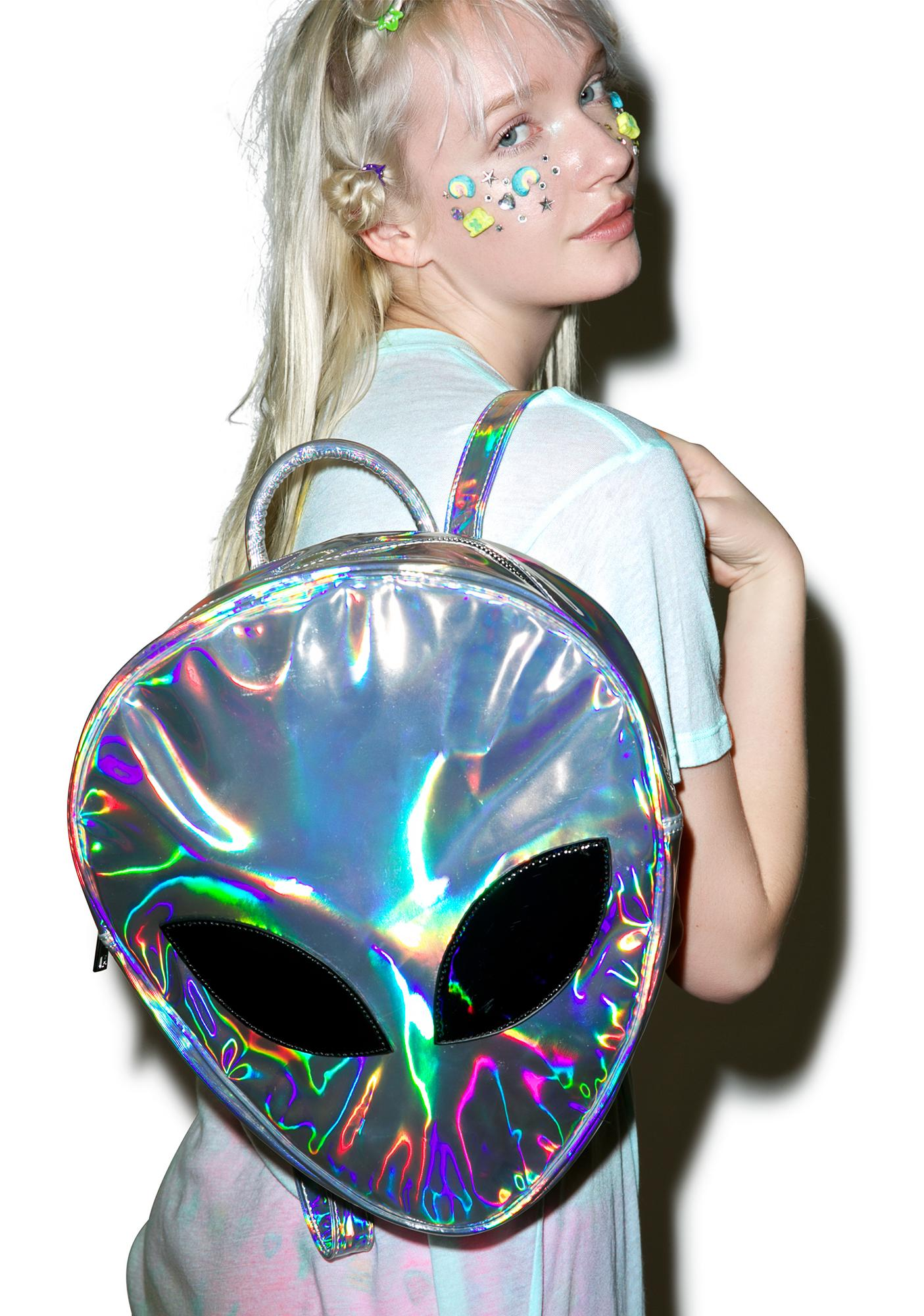 Disturbia Alien Backpack