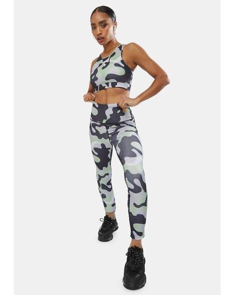 Dove Reporting 4 Duty Camo Leggings