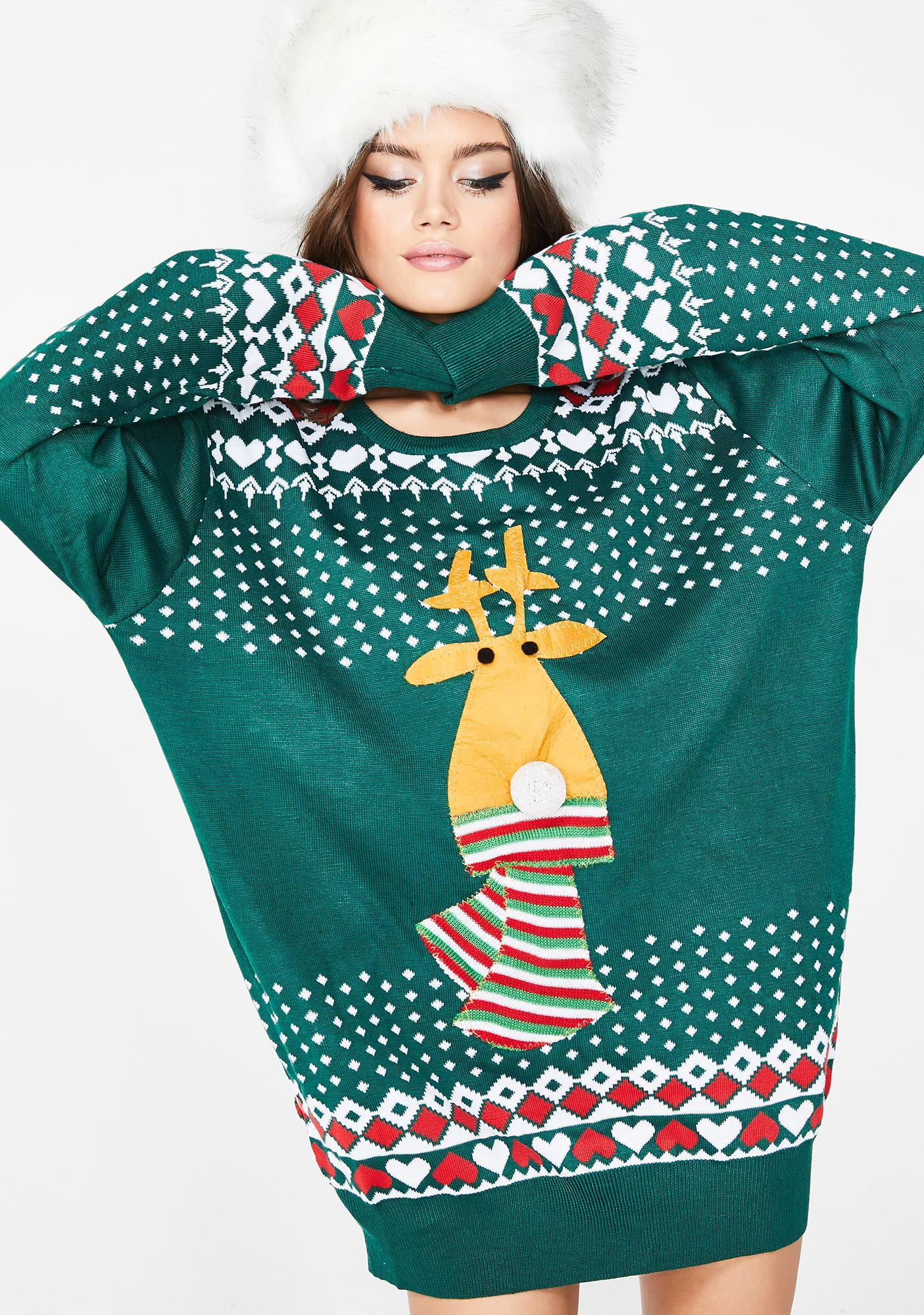 Rudolph's So Lit Light Up Sweater