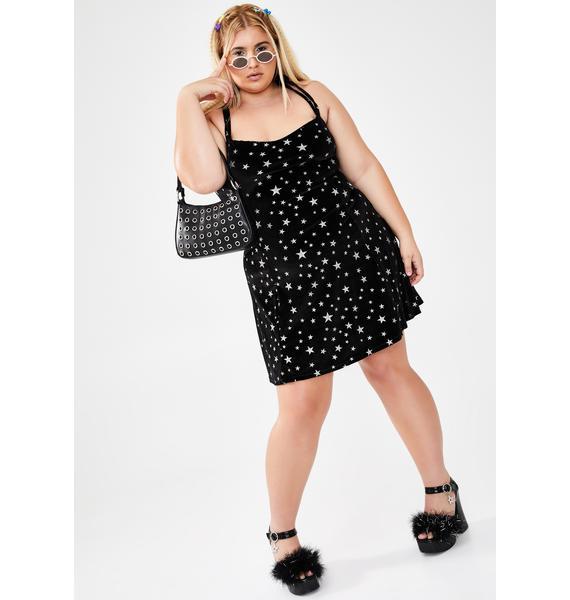 dELiA*s by Dolls Kill Always Celebrity Status Velvet Dress