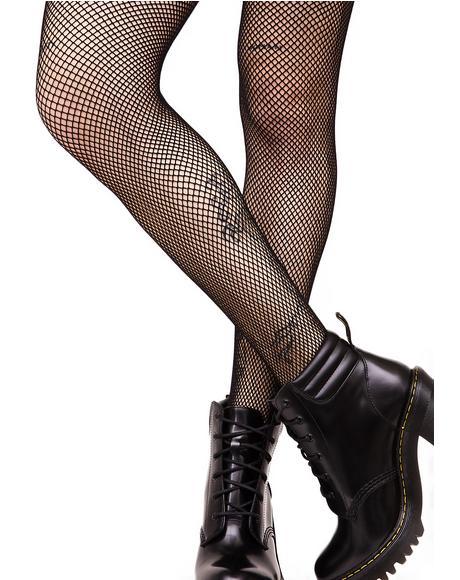 Everyday Slay Fishnet Stockings