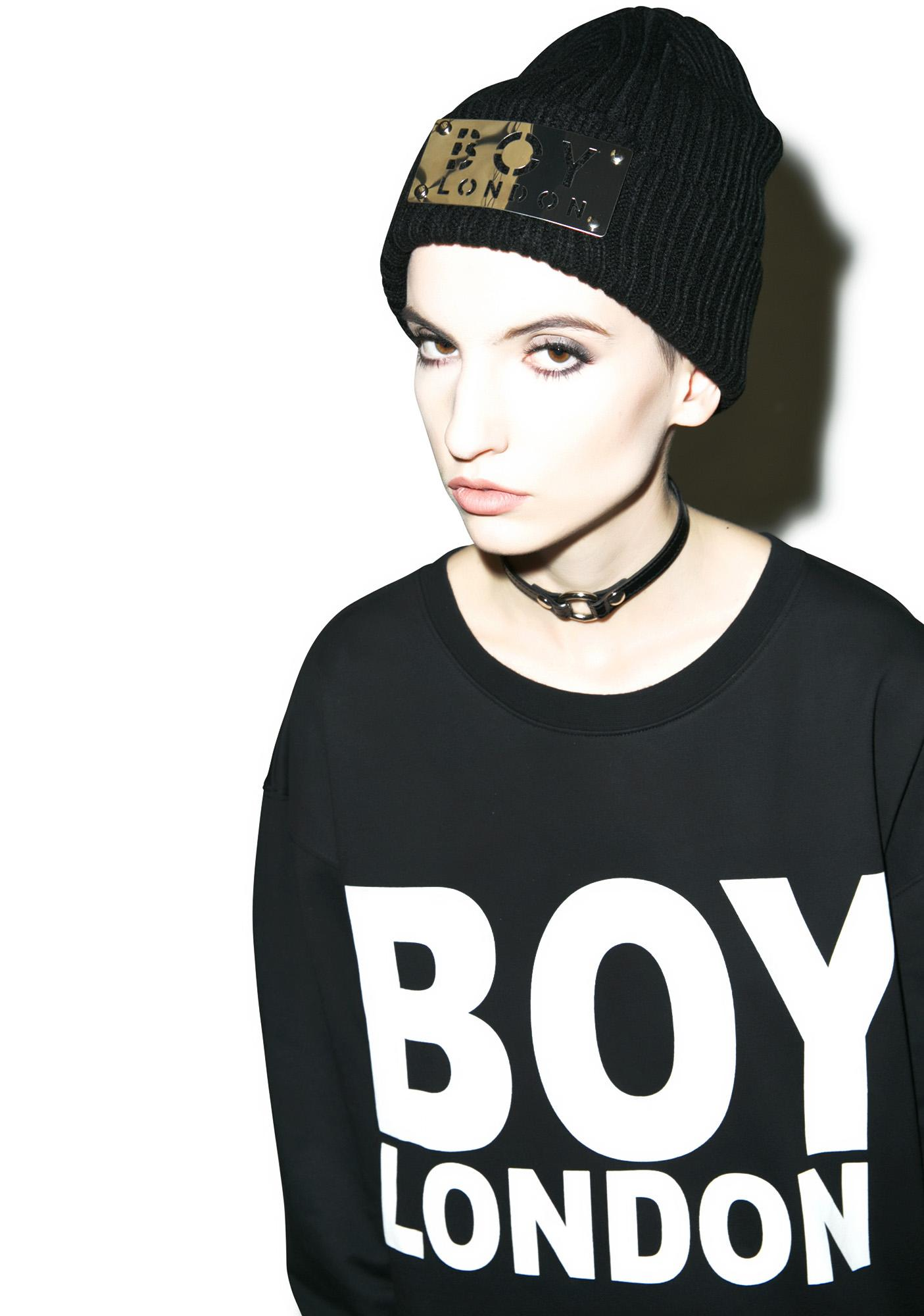 BOY London Boy Panel Beanie