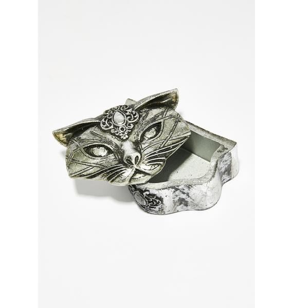 Alchemy England Sacred Cat Trinket Box