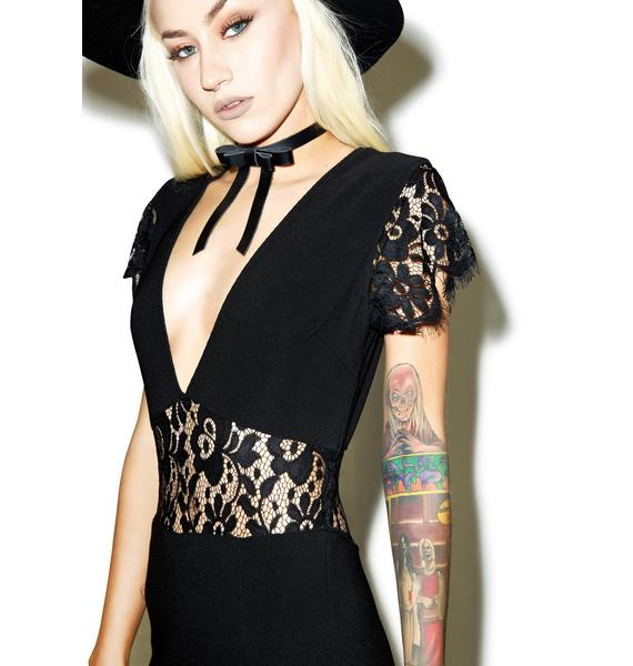 Black Widow Lace Jumpsuit