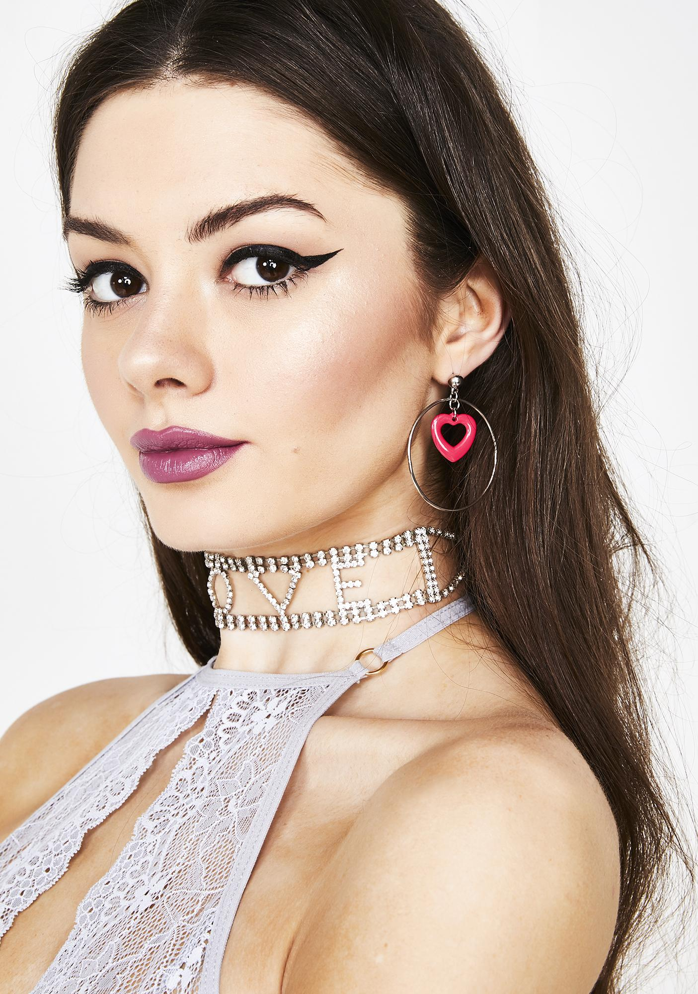 00a5828dd Pure Adoration Heart Earrings