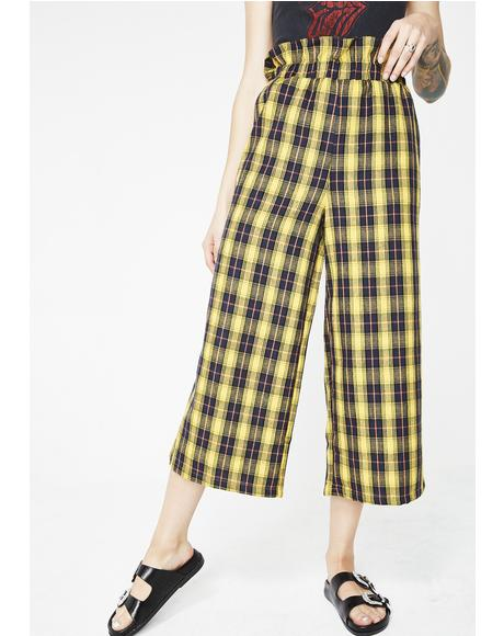 Class Dismissed Plaid Pants
