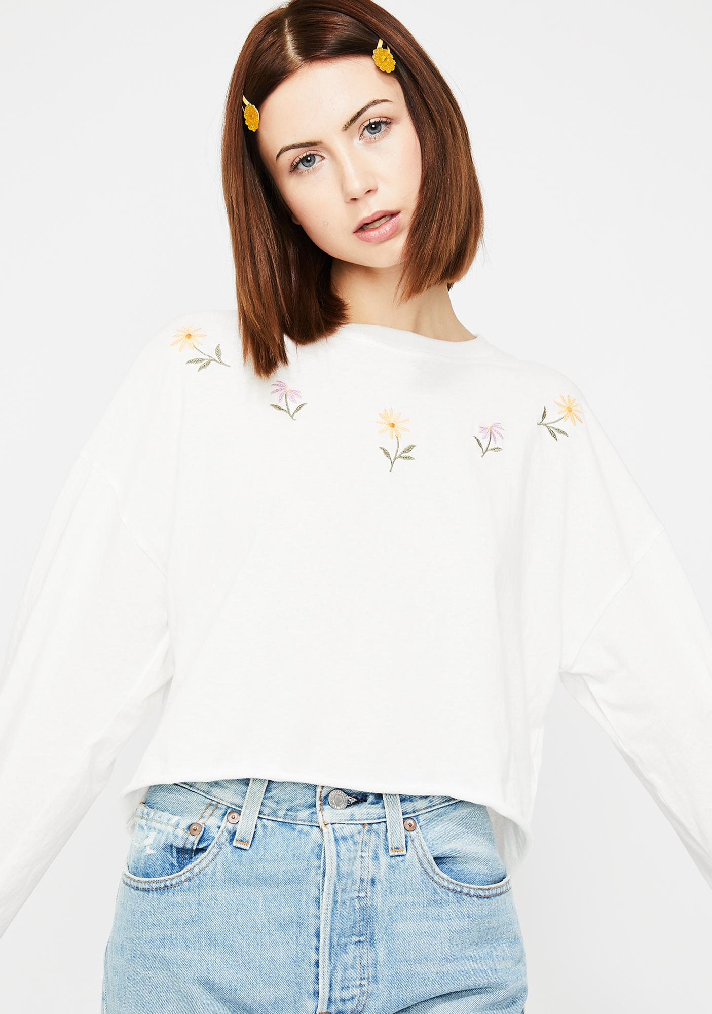 Flower Child Forever Crop Top