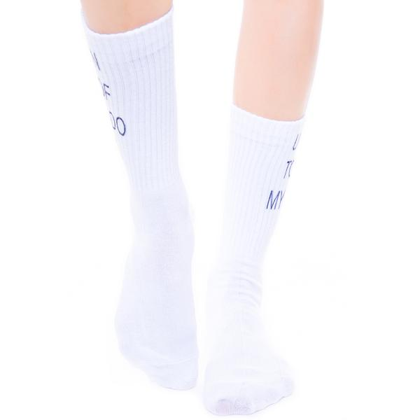 O Mighty Ur On Top Socks
