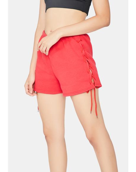 Lay It On The Line Lounge Shorts