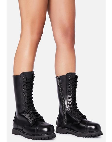 Rule Breaker Combat Boots