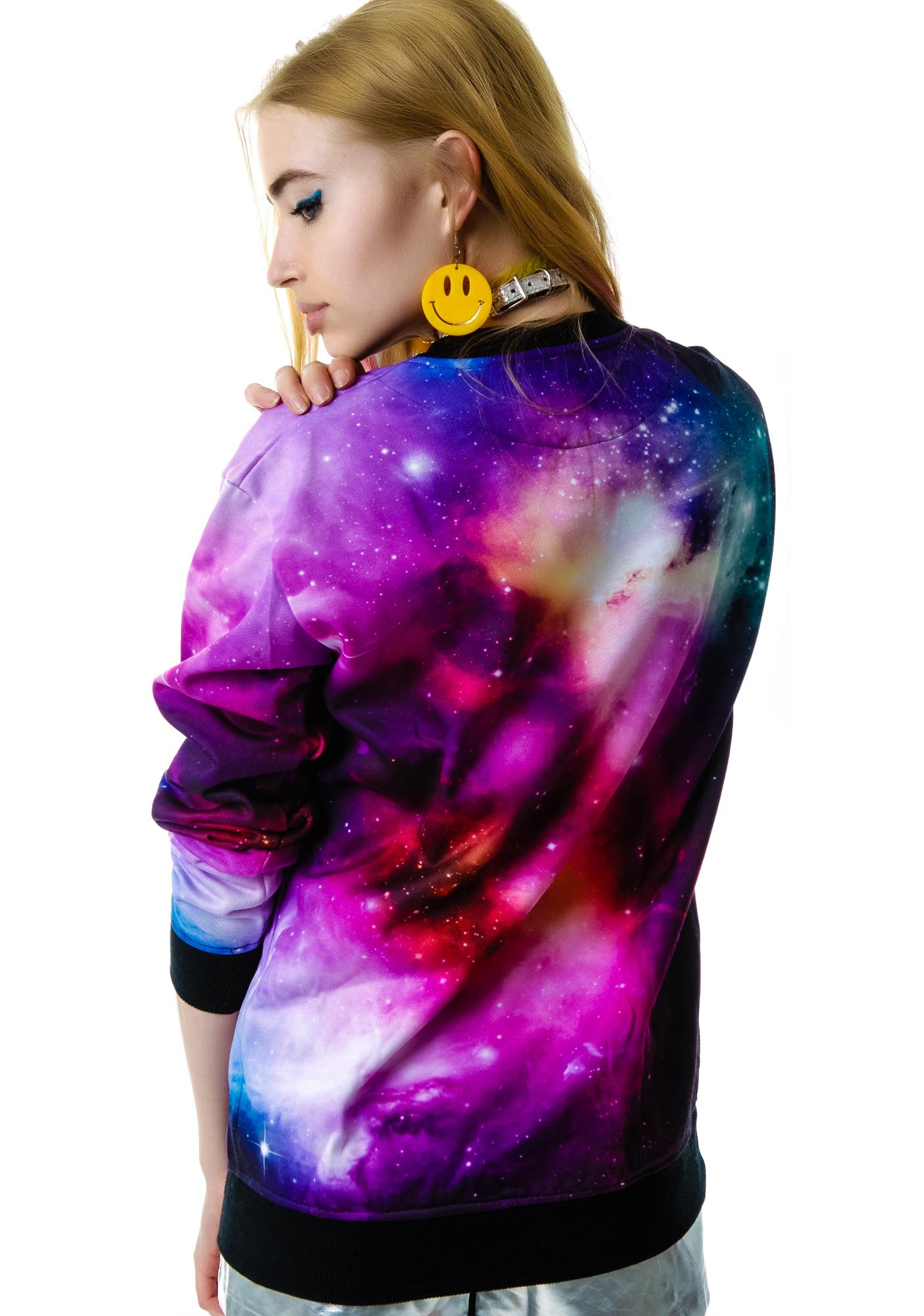 Killstar Galaxy Sweatshirt