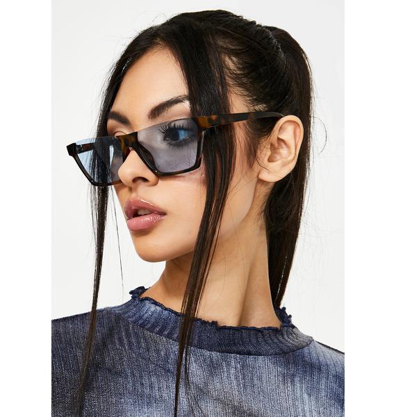 Talkin' To You Oversized Sunglasses