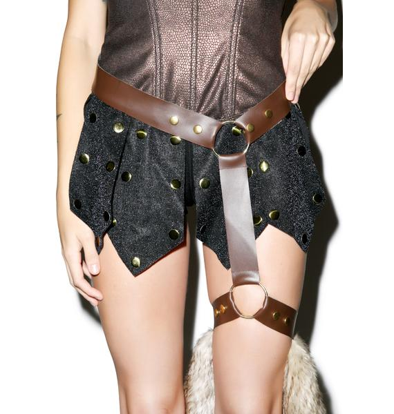 Warrior Pelt And Harness Set