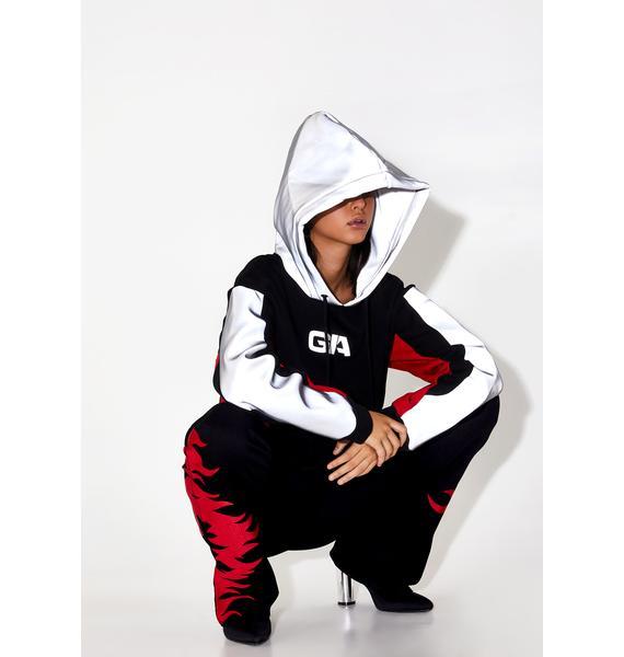 I AM GIA Sabrina Reflective Hoodie