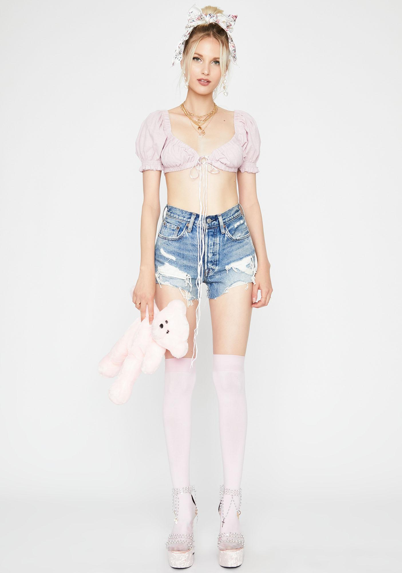 Fairy Iconic Innocence Crop Top