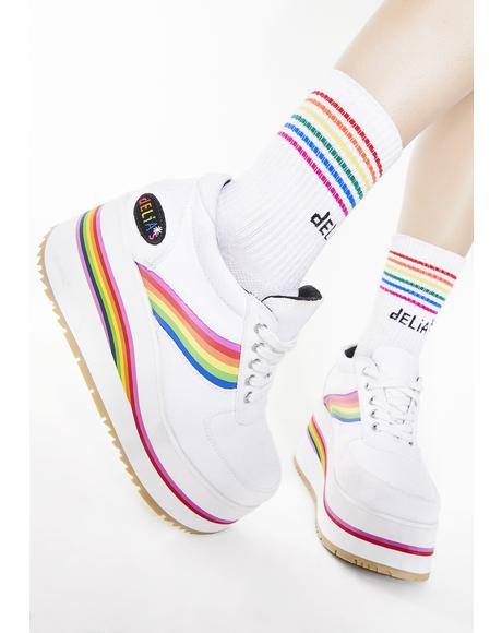 Popstar Power Platform Sneakers