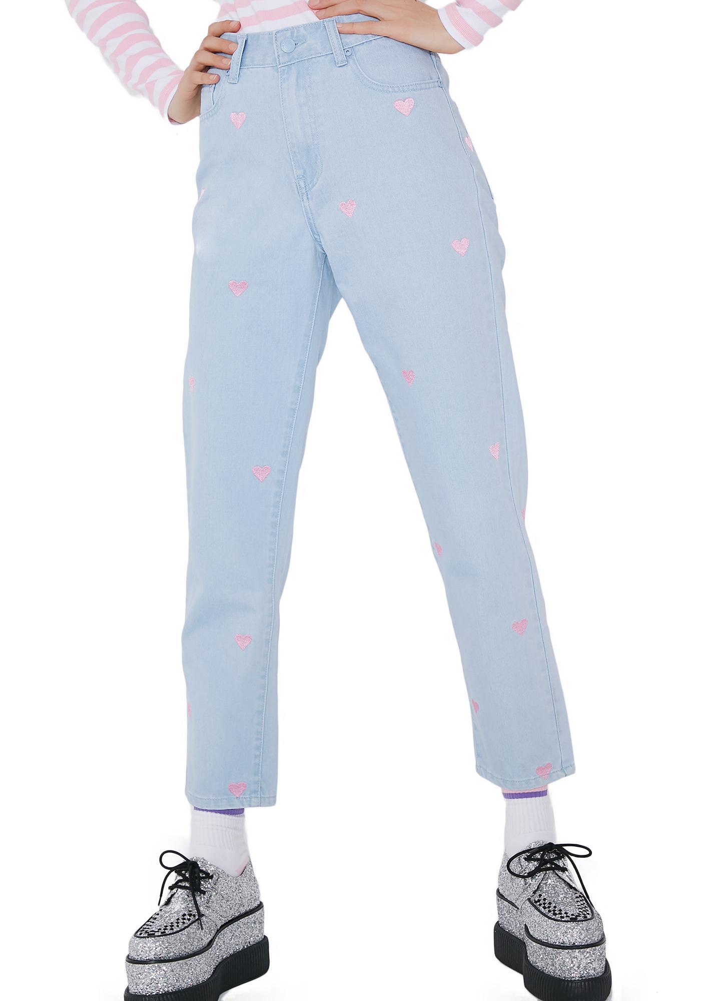 Lazy Oaf Romance Jeans