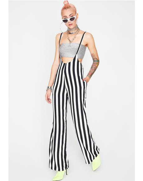 Got The Juice Stripe Jumpsuit