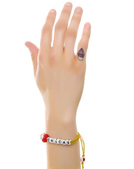 I Love Chicas Bracelet