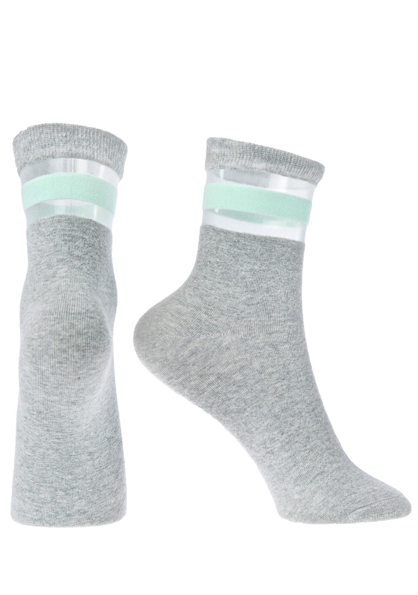 Get Physical Mint Socks